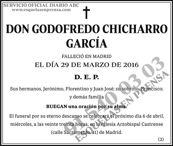 Godofredo Chicharro García